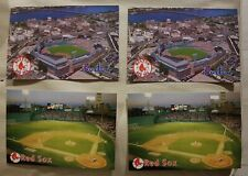 Baseball Boston Red Sox 4 Cartoline - Postcards