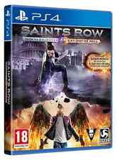 Saints Row IV: Re-Elected & Gat Out of Hell - First Edition PS4 NUOVO ITA