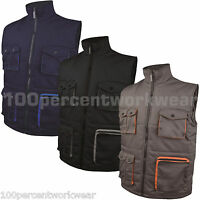Delta Plus Work Wear MACH2 Stockton Padded Bodywarmer Gilet Jacket Vest Mens New