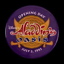 "1993 Disney's Aladdin's Oasis 3"" Pinback Button"