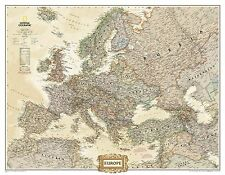Europe National Geographic Maps 9780792289869