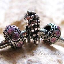 Magical Unicorn Horse Bead And Crystal Birthstones For European Charm Bracelets