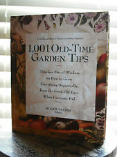 1001 Old Time Garden Tips 1997 Robtert Yepsen Editor- Hardcover - New Condition