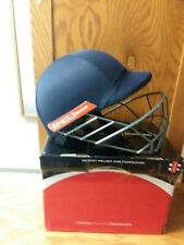 Gray-Nicolls Cricket Helmet And Faceguard New Condition