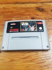 Snes Super Star Wars España pal JVC Super Nintendo