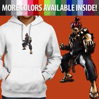 Street Fighter Akuma Gouki Classic Arcade Men Pullover Sweatshirt Hoodie Sweater