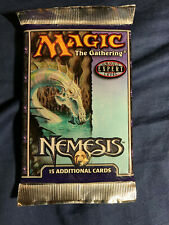 Grab bag of unopened vintage MTG booster packs: 2x Nemesis and 1x Ice Age