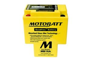 MOTOBATT Batterie MB16A