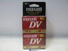 Maxell Mini DV Digital Video Cassette 2pk