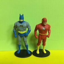 2PCS Gentle Giant Super Powers Batman & Flash Mini Figure Toy