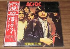 FREE ship! AC/DC Japan PROMO issue card sleeve CD more listed HIGHWAY TO HELL