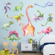 Dinosaurs Removable Wall Stickers Kids Boys Bedroom Home Art Decals Decor  @Vt.
