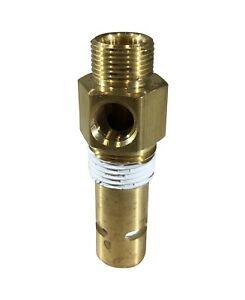 """New air compressor in tank check valve  3/8"""" COMPRESSION x 3/8"""" MALE NPT"""