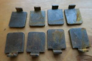 Shelf Supports Clips Steel PACK of 8 (Use with Strip System Shelving)