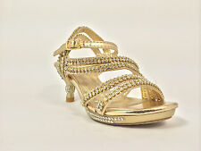 Kid Party Sandals Gold Color