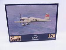 LOT 24212   Huma Modell 3005 Arado Ar 80 Jagdflugzeug 1:72 Bausatz NEU in OVP