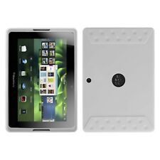 Translucent White Solid Skin Protector Cover Case for BlackBerry Playbook