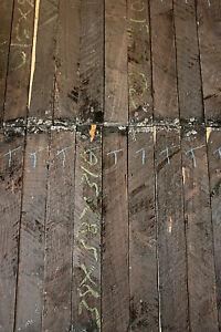 African Blackwood Grenadilla turning blank spindle 100-460 x 25-60mm SQ GRADE A