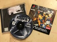 SONY PS1 PLAYSTATION 1 PSone GAME X-MEN MUTANT ACADEMY 2 / II +BOX INSTRUCTIONS