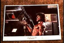 RAMBO FIRST BLOOD PART II 1985 LOBBY CARD #2 STALLONE CLASSIC