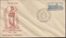 J) 1962 INDIA, CENTENARY HIGH COURT OF BOMBAY, FDC