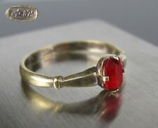 Vintage Ring SILVER 875 Star stamp Size 8.25 Soviet Russia USSR 1,90 g
