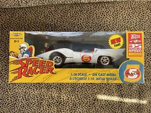 "ERTL SPEED RACER  MACH 5 WITH CHIM CHIM   ""NEW IN BOX"""