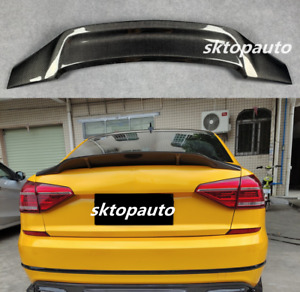 Fit For Volkswagen VW Passat CC 2009-2018 Carbon Fiber Rear Trunk Spoiler Wing
