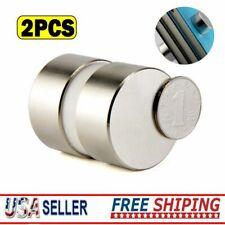 2pcs Large 40mm X 20mm N52 Neodymium Rare Earth Magnet Big Super Strong Huge Us