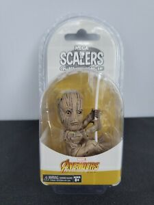 NECA Avengers GOTG Limited Edition Groot Scalers Figure Toy New NOS MIP Marvel