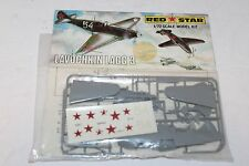 VINTAGE RED STAR RUSSIAN LAVOCHKIN LAGG 3 AIRPLANE  WW2  1:72 UNBUILT