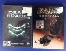 Dead Space 2 PC 2011 Video Game + Dead Space Downfall Animated Movie DVD lot