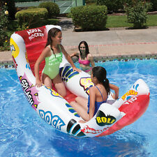 Aqua Rocker, AWESOME FUN JUMBO Inflatable Rocking lounger, Pool Float - Aquafun
