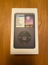 Apple iPod Classic 7th Generation 160Gb Black Mvc297Ll in Box w/ Accessories