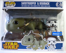 SANDTROOPER & DEWBACK 2 pack Funko Pop! wal-mart exclusive vinyl bobblehead