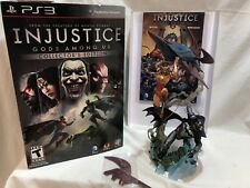 DC INJUSTICE GODS AMONG US COLLECTOR EDITION PVC STATUE BATMAN WONDER WOMAN PS3