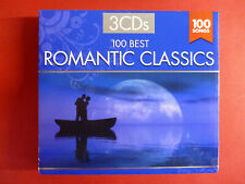 100 BEST ROMANTIC CLASSICS Various Artists CD Digipak
