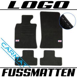 Fussmatten für Mini R56 Bj. 2006-2013 Fußmatten Autoteppiche LOGO