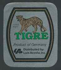 Tigre premium Beer, Dressler cervecería, bremen cerveza etiqueta del frasco (hb-078)