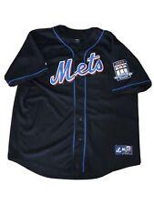 New York Mets 2009 Citi Field Inaugural Season Johan Santana 57 Majestic Jersey