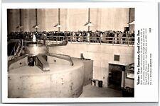 RPPC Dam Tour Group Generator Grand Coulee Dam WA Vintage Postcard K14