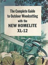 Equipment Brochure -  Homelite - XL-12 - Chain Saw - c1960's - Chainsaw (E4354)
