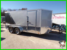 7x14 14ft Enclosed Cargo Show Classis Motorcycle Bike Custom Harley Trailers Tx