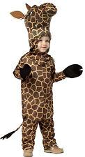 Giraffe Animal Child Costume Soft Headpiece & Tunic Halloween Rasta Imposta