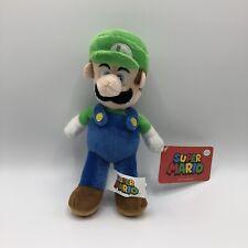 """Super Mario Bros. Luigi 8"""" Official Nintendo Plush - Licensed Product"""