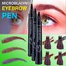 Microblading Eyebrow Tattoo Pencil Waterproof Liquid  Eye Makeup cosmetic Pen