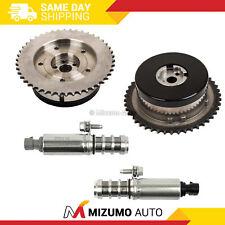 Pair Variable Timing Sprocket Camshaft Actuator Gear Solenoid Fit GM 2.2L 2.4L