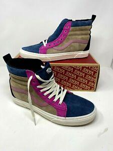 Vans SK8-Hi MTE Leather Gibraltar Sea Portabella Shoes men's us Size 8.5