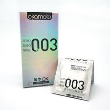 10P Okamoto 003 Platinum Super Ultra Thin Condoms 10P Made in Japan
