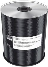 100 Mediarange Rohlinge CD-R black dye 80Min 700MB 48x Spindel
